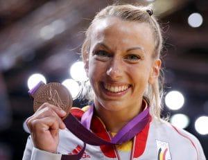 Charline Van Snick championne judo