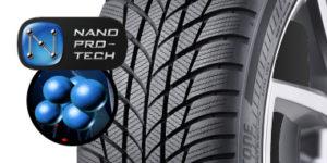 Bridgestone Technologie Nano Pro Tech sur le Driveguard