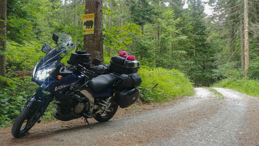 Roadtrip moto en Slovenie