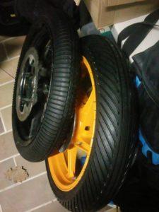 Train de pneus pluie Dunlop KR 189 et 389