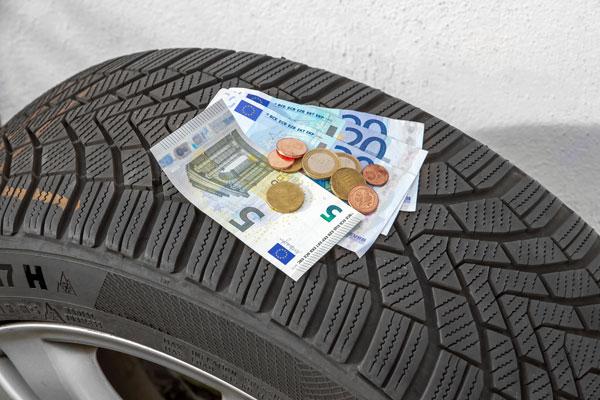 Un pneu pas cher qui a permis d'économiser sur le prix lors de son achat